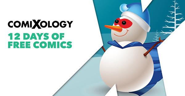 ComiXology 12 days of Christmas