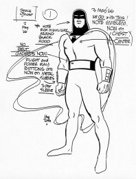 Space Ghost design