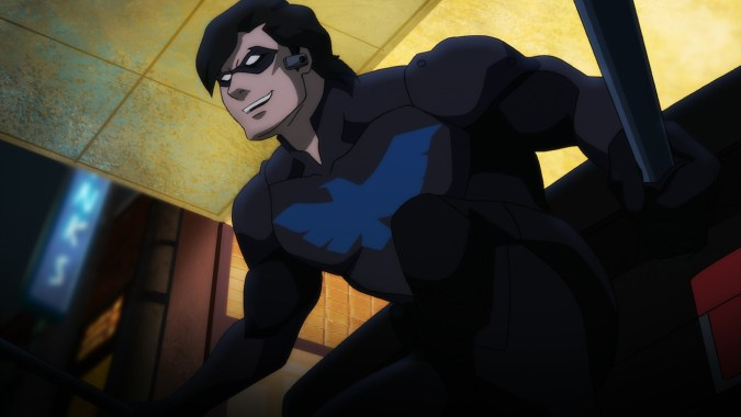 Nightwing in Batman: Bad Blood