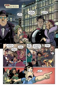 The Baker Street Peculiars page 1