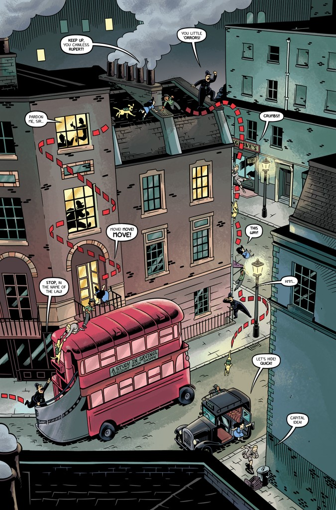 The Baker Street Peculiars page 10 (colors)