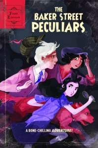 The Baker Street Peculiars cover by Hannah Christenson