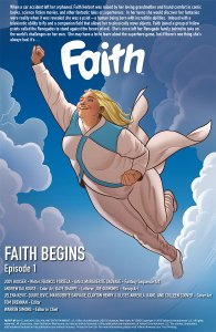 Preview pages from Faith #1