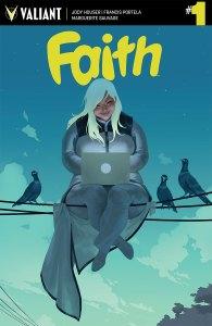 Faith #1 cover by Jelena Kevic-Djurdjevic