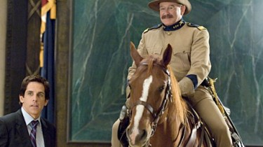 Robin Williams as Teddy Roosevelt