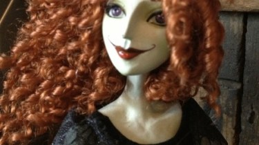 Scary Godmother doll prototype