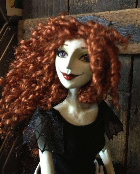 Scary Godmother doll prototype