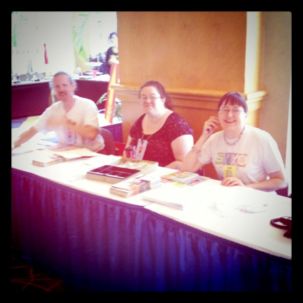 Volunteering at SPX 2011