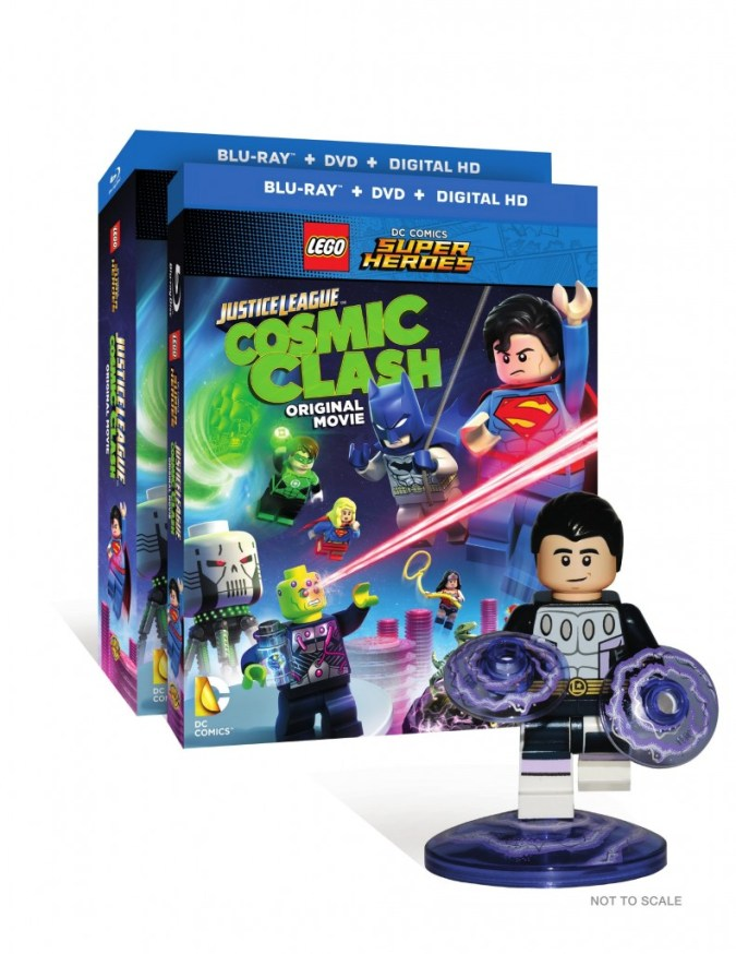 Lego DC Comics Super Heroes: Justice League: Cosmic Clash package with Cosmic Boy