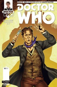 Doctor Who: The Eighth Doctor #2 cover by Rachael Stott & Luis Guerrero