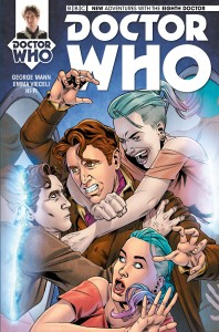 Doctor Who: The Eighth Doctor #3 cover by Rachael Stott