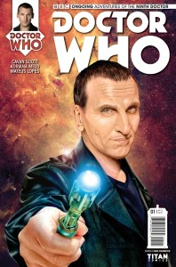 Doctor Who: The Ninth Doctor #1 cover by Shea Standefer