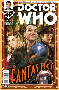 Doctor Who: The Ninth Doctor #1 cover by Adriana Melo