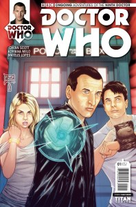 Doctor Who: The Ninth Doctor #1 cover by Blair Shedd