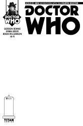 Doctor Who: The Fourth Doctor #1 blank sketch cover