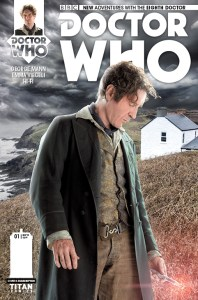 Doctor Who: The Eighth Doctor #1 photo cover