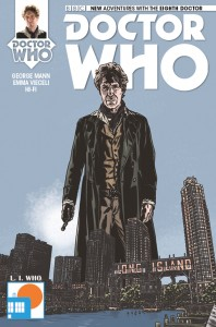 Doctor Who: The Eighth Doctor #1 cover by Matthew Dow Smith