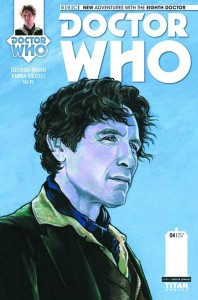 Doctor Who: The Eighth Doctor #4 cover by Carolyn Edwards