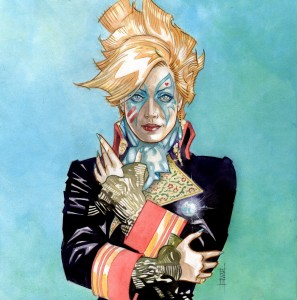 Dazzler as Adam Ant