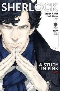 Sherlock manga cover by Jay
