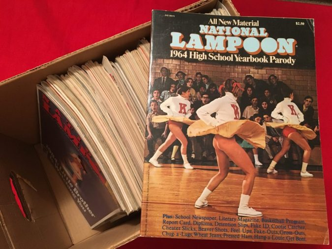 "KC""s National Lampoon collection"