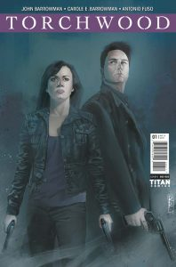 Torchwood #1 cover by Rod Reis