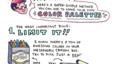 Color tutorial by Melanie Gillman