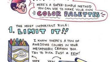 Color tutorial by Melanie Gillman