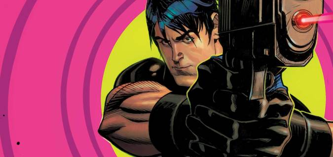Cover image from Grayson #1 by Andrew Robinson