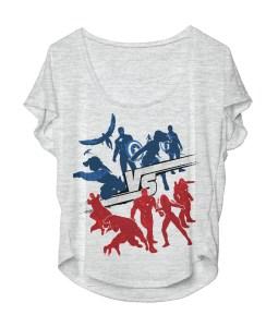 Civil War shirt front mockup