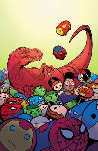 Moon Girl and Devil Dinosaur #10 Tsum Tsum Takeover Variant