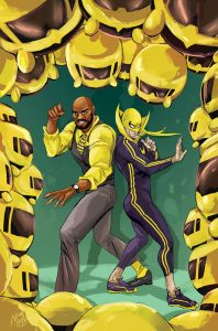 Power Man and Iron Fist #7 Tsum Tsum Takeover Variant