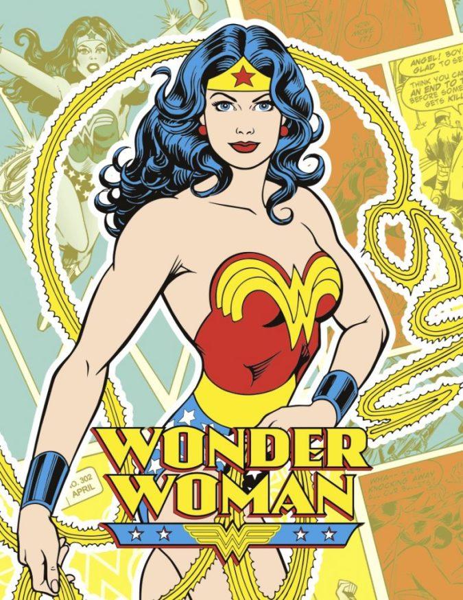 Wonder Woman Walgreens promotional art