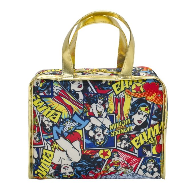 Wonder Woman makeup tote