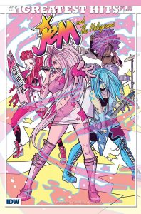 Jem & the Holograms #1 Greatest Hits Edition