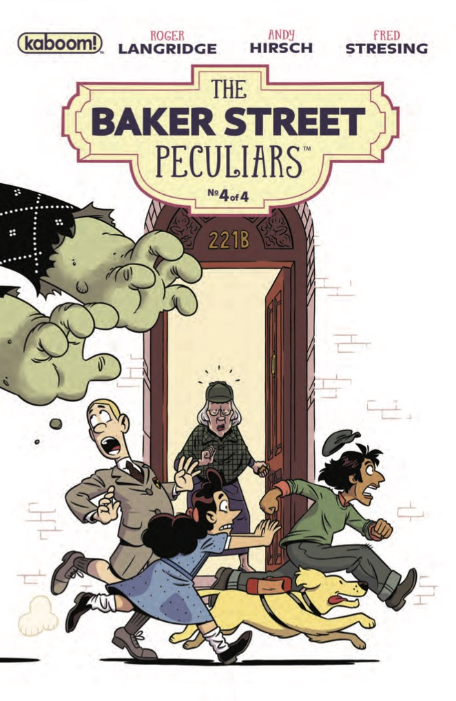 The Baker Street Peculiars #4