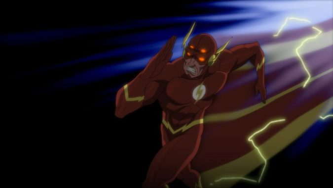 Justice League vs. Teen Titans - Flash possessed