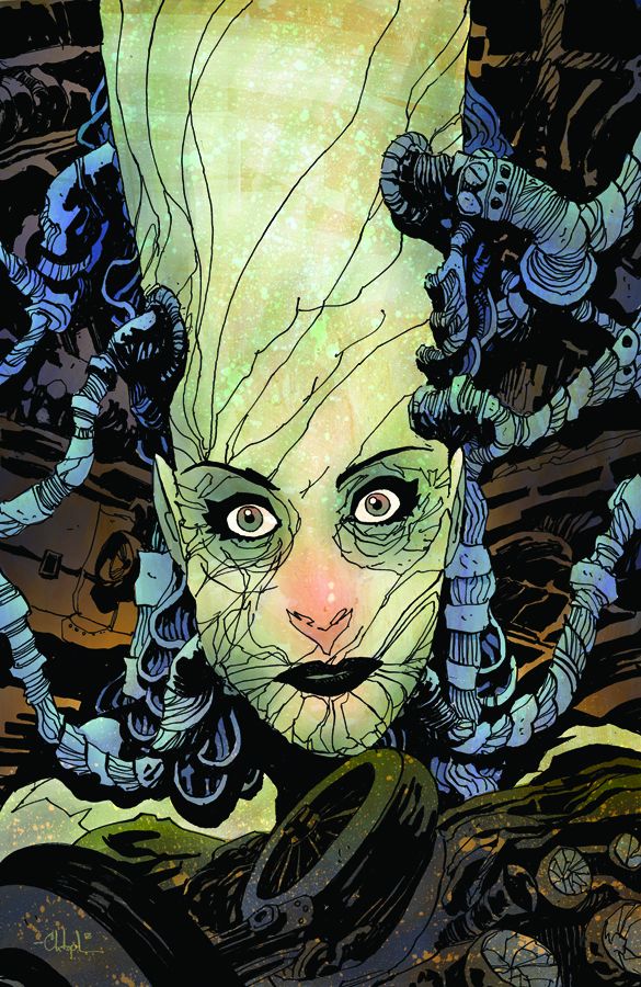 Madame Frankenstein 1 cover by Christopher Mitten