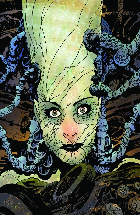 Madame Frankenstein 1 cover by Christopher Mitten