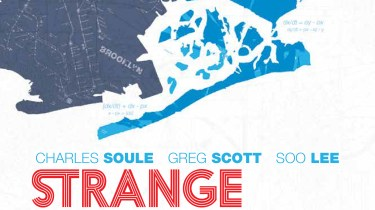 Strange Attractors #1 cover by Scott Newman