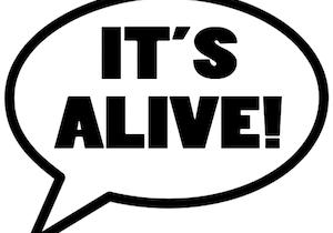 It's Alive logo