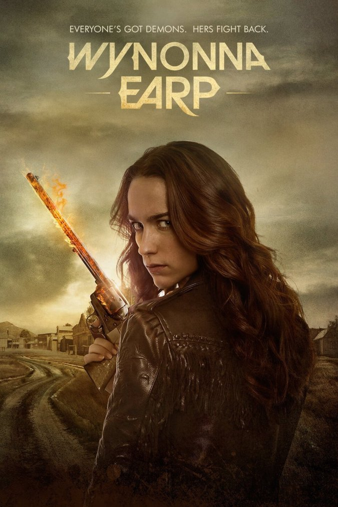 Wynonna Earp promotional poster