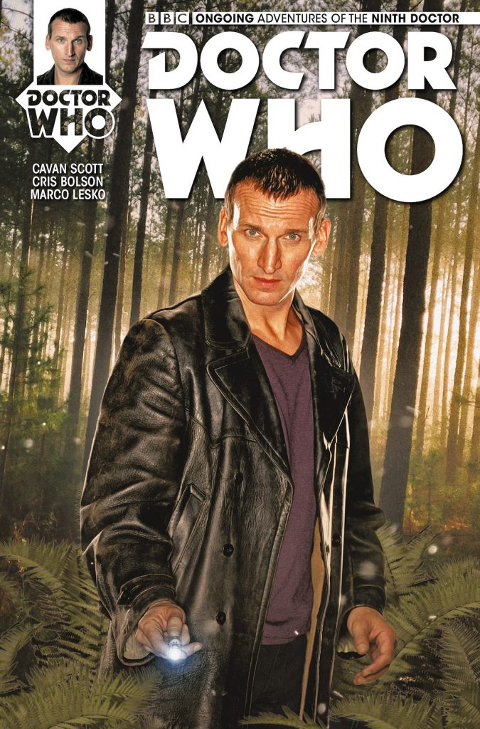 Doctor Who: The Ninth Doctor #4 photo cover by Will Brooks