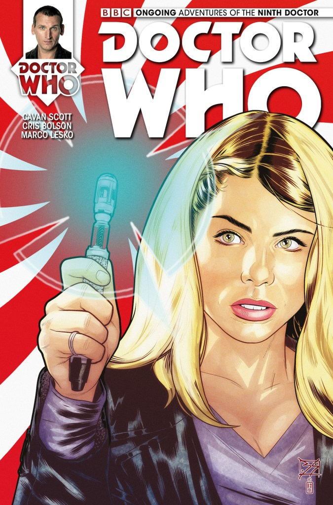 Doctor Who: The Ninth Doctor #4 cover by Blair Shedd