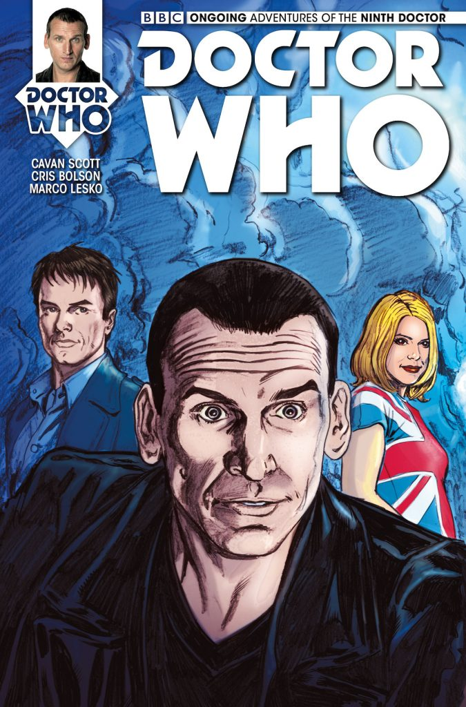 Doctor Who: The Ninth Doctor #4 cover by Mike Collins