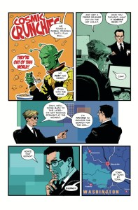 Resident Alien: The Man With No Name #1 preview page 3