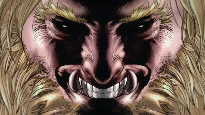 Wolverine vs. Sabretooth still