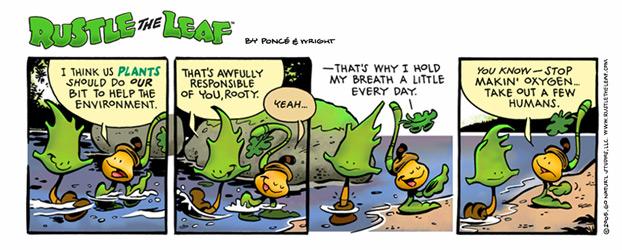 Rustle the Leaf