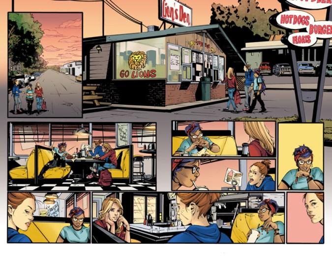 Supergirl: Being Super art