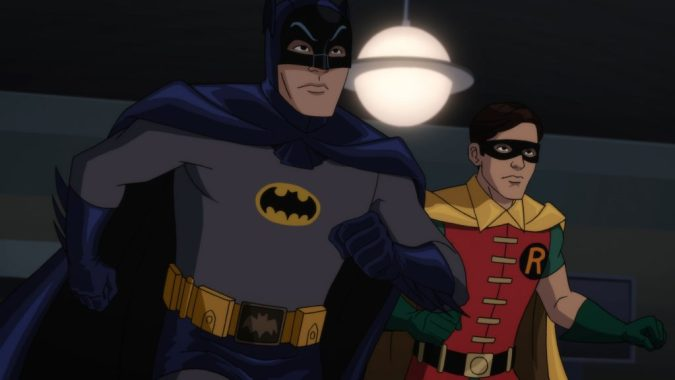 Batman and Robin in Batman: Return of the Caped Crusaders
